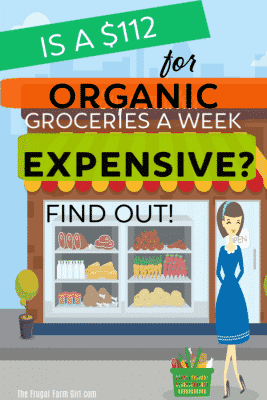 $112 organic shopping trip to expensive find out