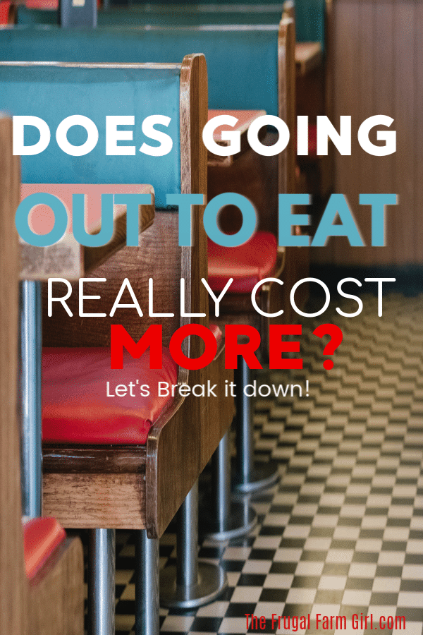 going out to eat cost more