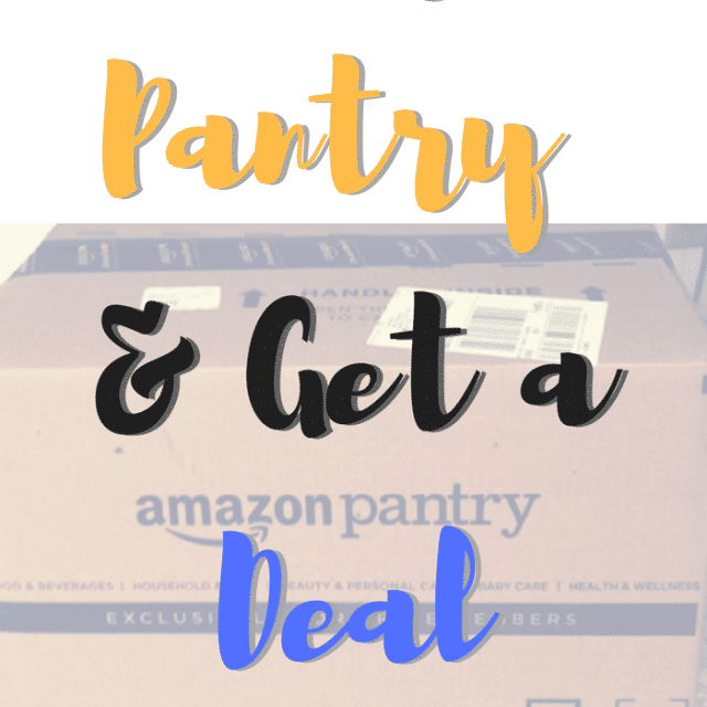 How to Shop Amazon Pantry & Get a Deal