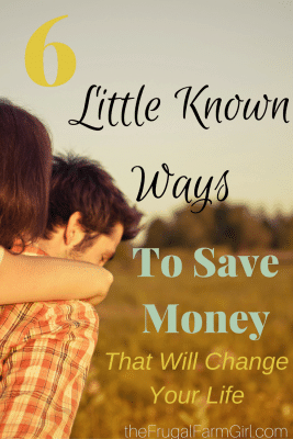 6 little known ways to save money that will change your life