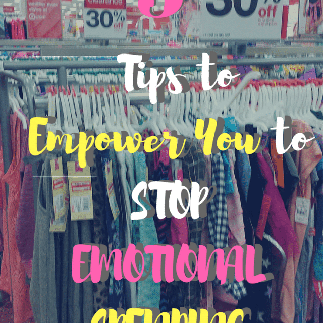 5 Tips to Empower YOU to STOP Emotional Spending Instantly