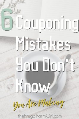 Couponing mistakes you dont know you are making