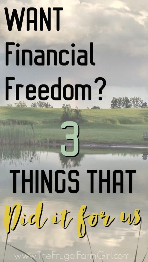 looking for ways to achieve financial freedom? You first need to apply these three principles.