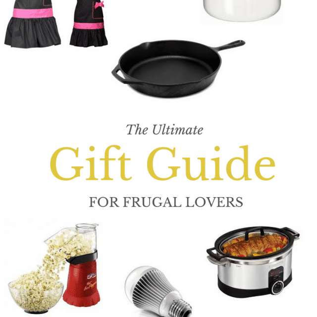 The Ultimate Gift Guide for Frugal Lovers