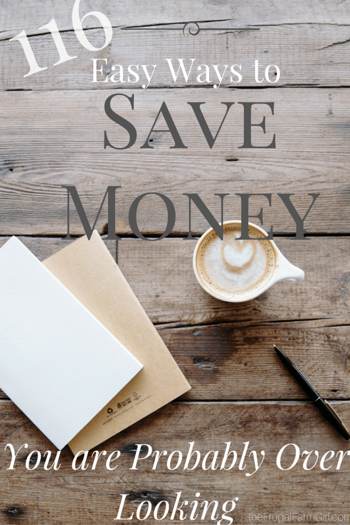 ways to save money on everyday essentials