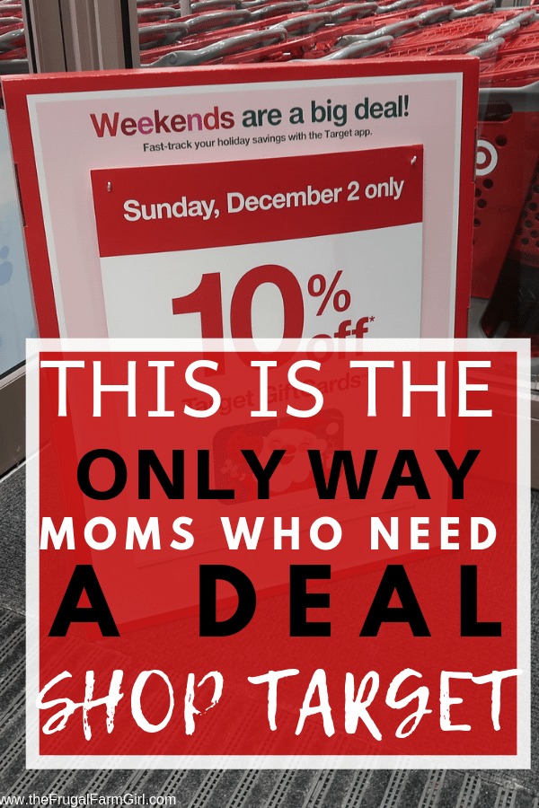 tips to shop target to save time and money