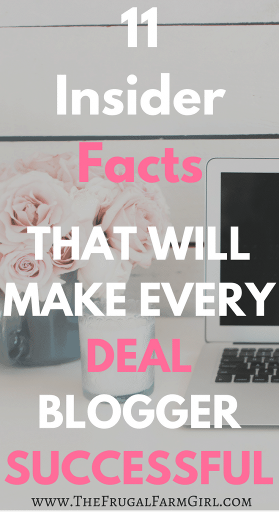 coupon blogger tips - how to be a deal blogger