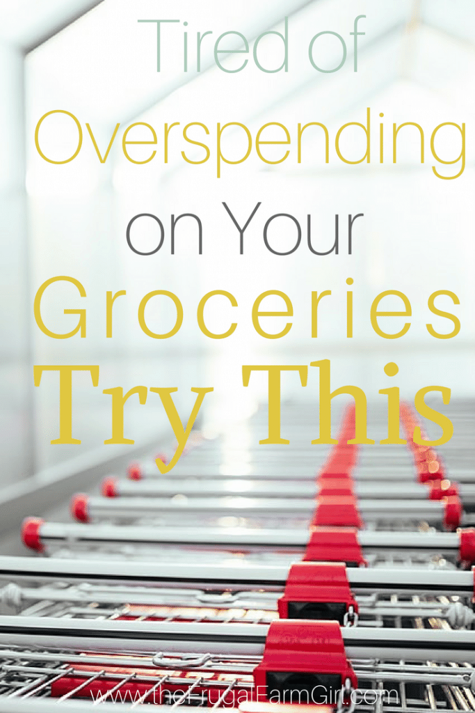 spending too much on groceries again try this
