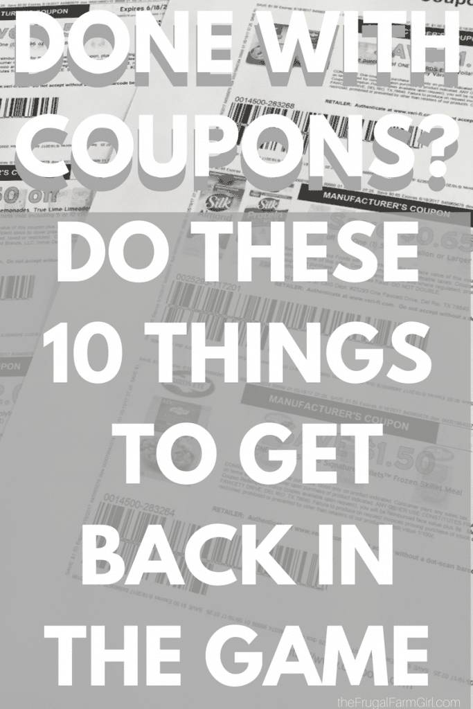 How to coupon when you feel burnt out. coupon burnout, for beginners, extreme, tips, stockpiles, how to start