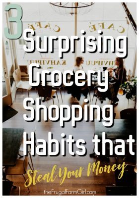 Grocery Shopping habits