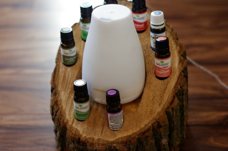 DIY Wood Log Essential Oils Holder & Diffuser