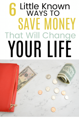how to save money quickly