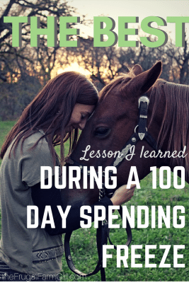 100 day spending freeze survived