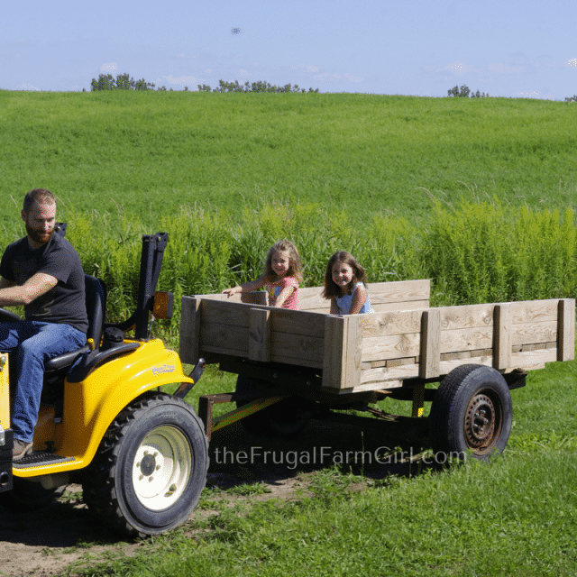 How to Turn a Farm Truck into a Functioning Trailer