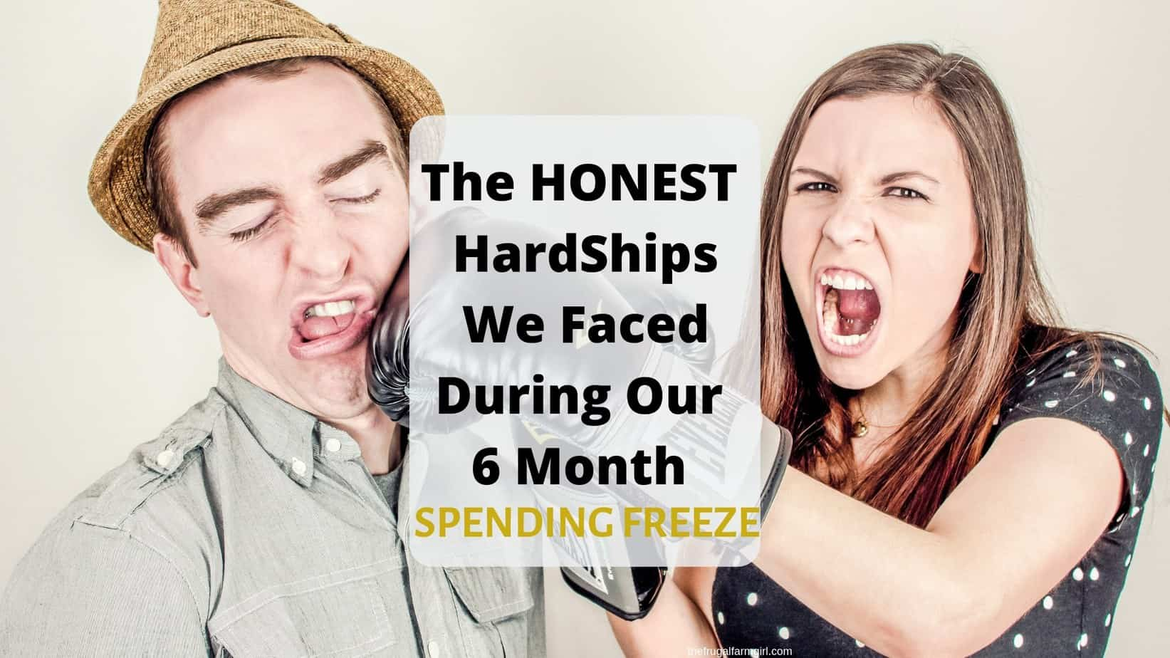how we got through our six month spending freeze