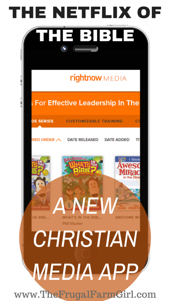 It's been called the Netflix of the bible. If you are fed up with today's latest shows check out the newest Christian Media App.