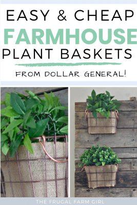 farmhouse diy planter