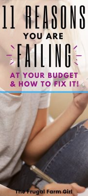 how to fix your budget