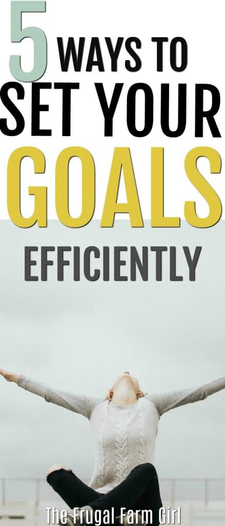 This year will be different. How to write your goals and stick to them.