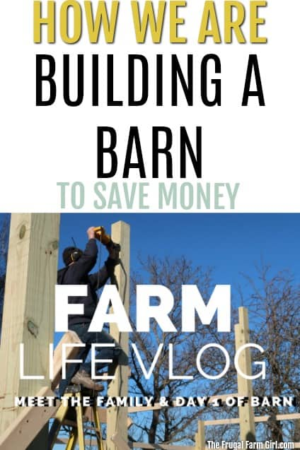 We are starting a barn and our farm after going through a six-month spending freeze, and living paycheck to paycheck. We are striving and achieving goals one day at a time. Join us for the journey of farm life country living.  #farmlife #vlog #video #barns #diy #howto #savemoney