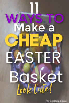 easter basket save money