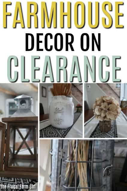 Looking for affordable farmhouse decor? You don't need a fancy budget to find deals. This girl has found a deal on almost everything she owns and she shares how to do it with you.  #farmhouse #decorations #budget #debtfree #howto #savemoney #frugal