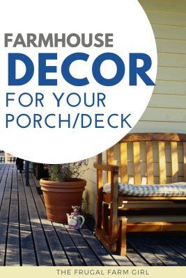 farmhouse decor for your porch