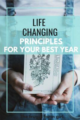 life changing principles to debt free life