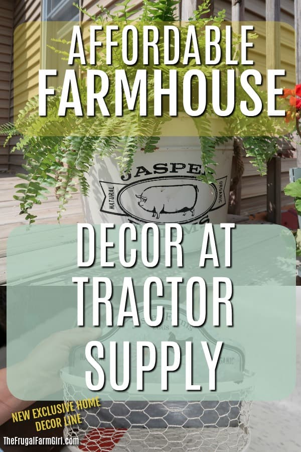 Tractor Supply Home Decor.Tractor Supply Farmhouse Decor Roundup The Frugal Farm Girl