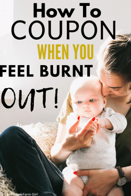 how to coupon when you feel burnt out
