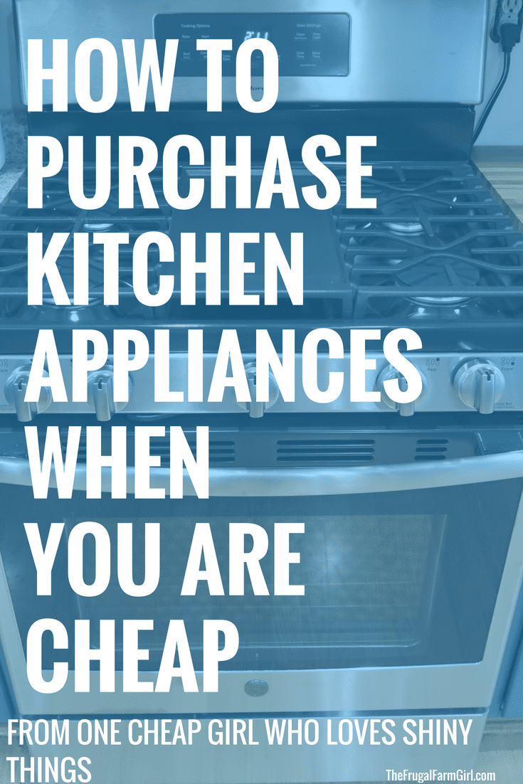 Do you hate to spend money on big appliances? Me too, which is why I have come up with the best frugal tips for those who like shiny things but hate to spend money. Every budget friendly person will enjoy how to save money on Kitchen Appliances.
