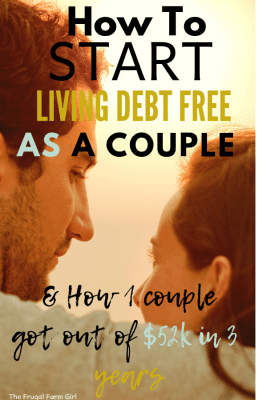 how to live debt free as a couple tips to do together