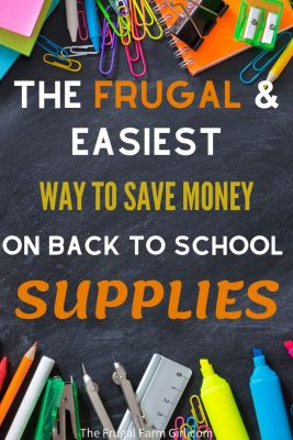 ways to save money on back to school supplies