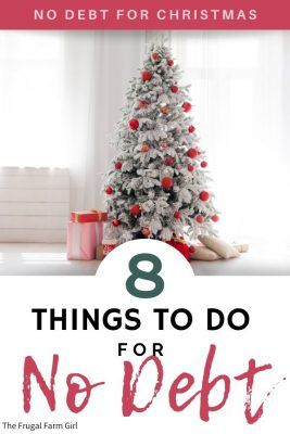 avoid debt for the holiday season