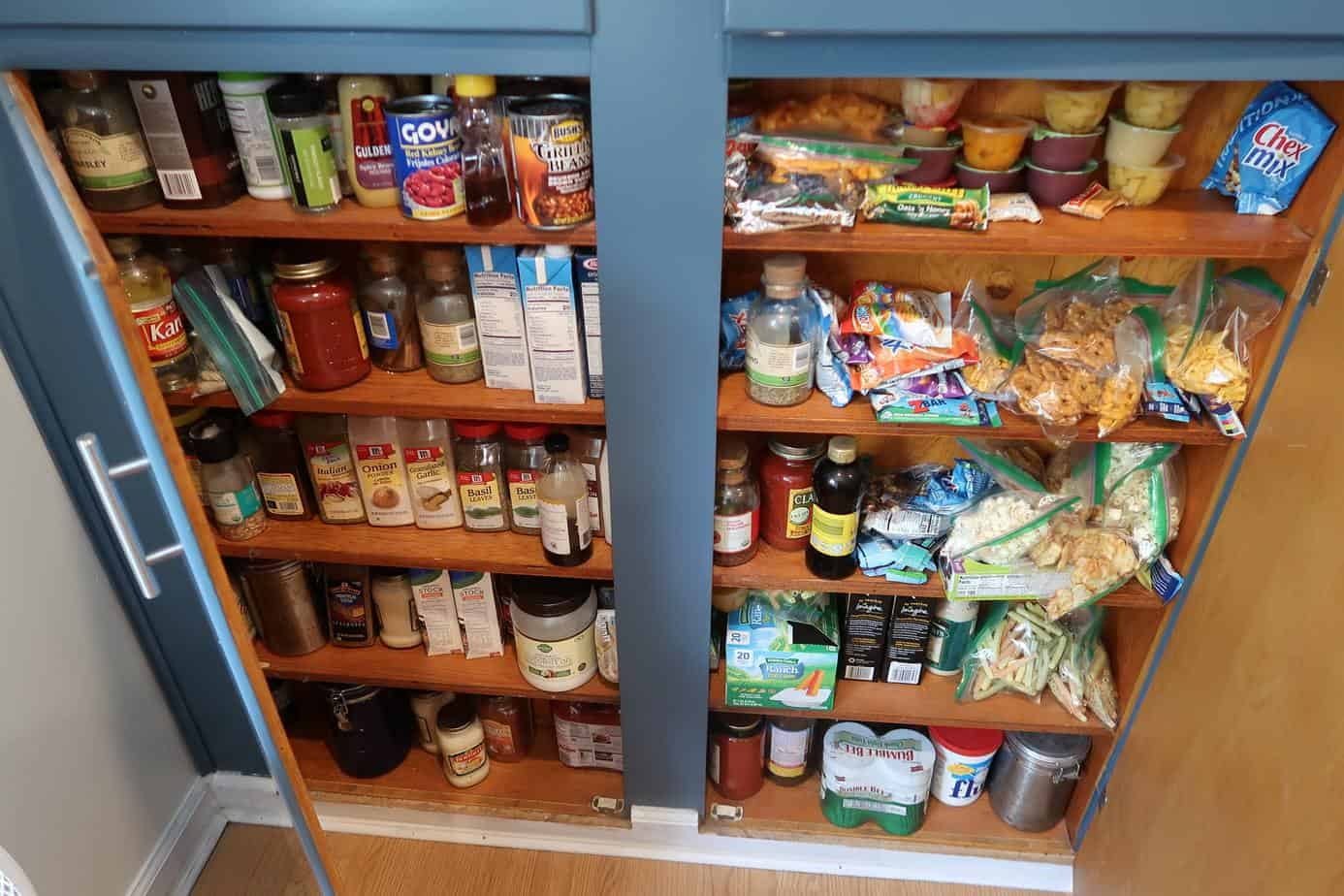 pantry spending freeze