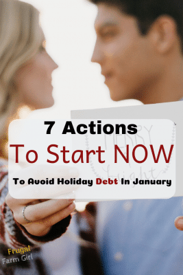 tips to avoid debt during the holidays