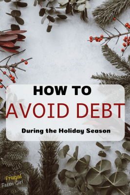 avoid debt during the holidays