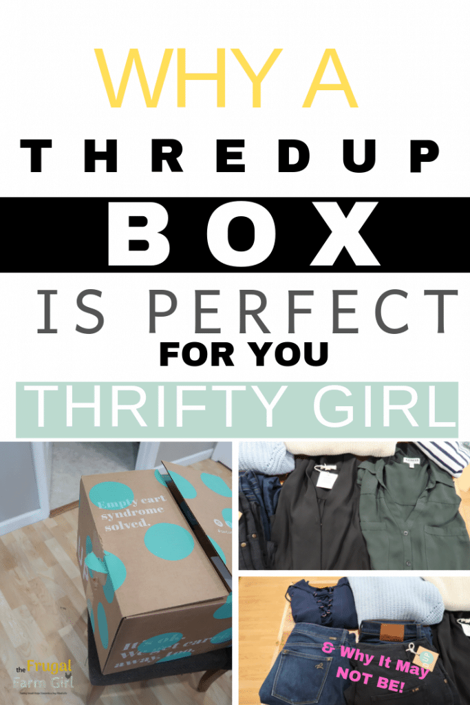 why a thred up goody box is a good choice or not