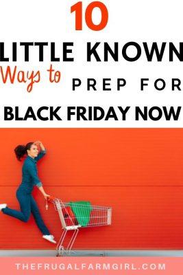 black friday prep tips
