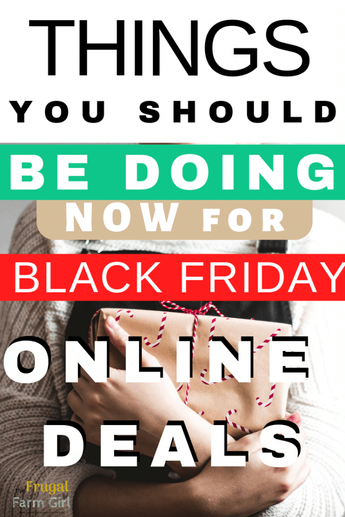 how to save online for black friday deals