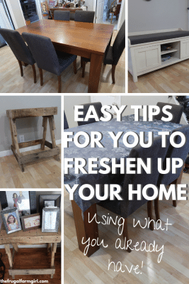 how to give your home a fresh look without spending any money