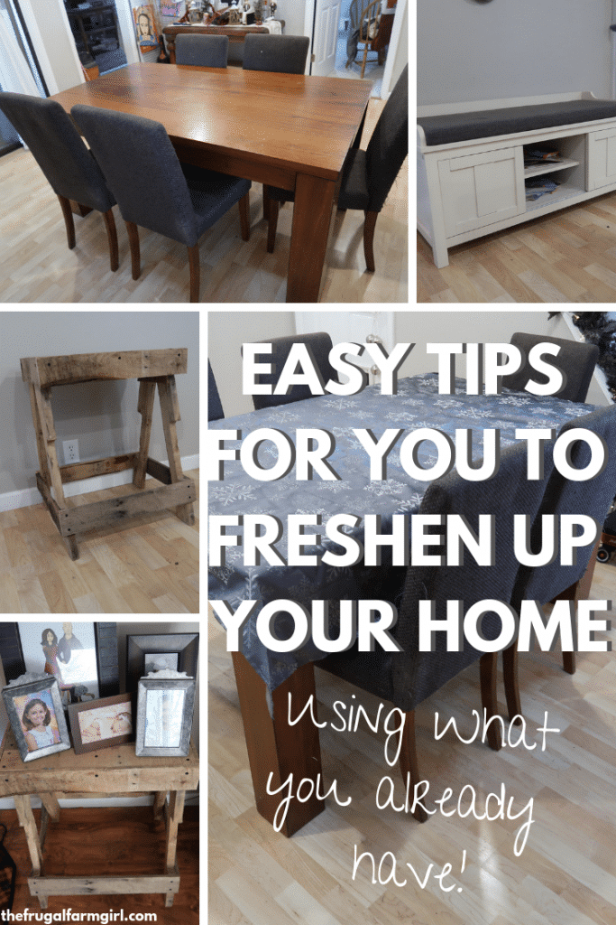 how to freshen up your home for cheap