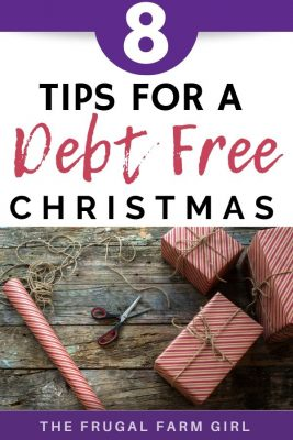 debt free christmas tips