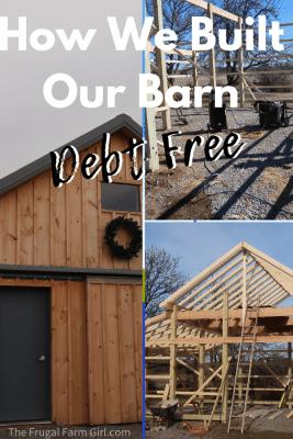 How We Built a Barn Debt Free
