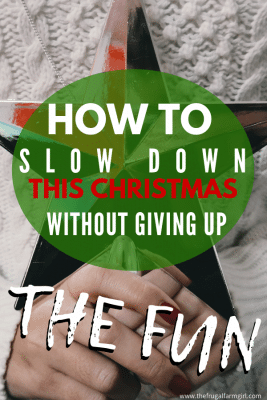 how to simplify your christmas this year