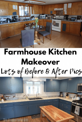 BIG Farmhouse Kitchen Makeover