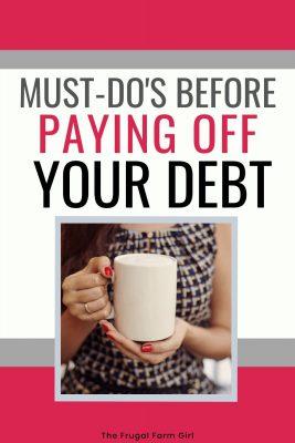 debt free lifestyle