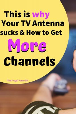 tv antenna get more channels