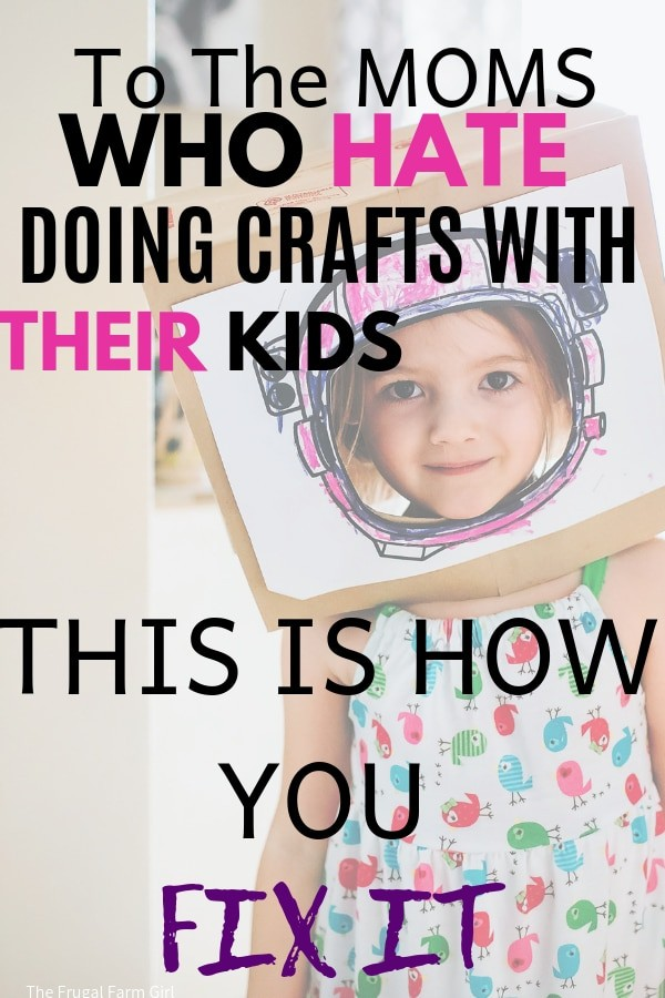 how to enjoy crafting with your kids