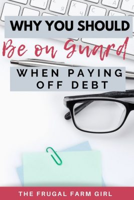 paying off debt tips and encouragement